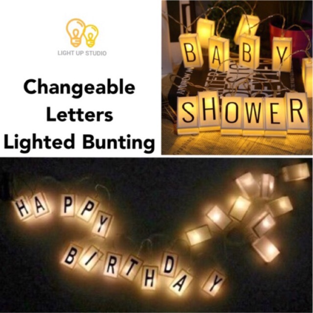 A5 A4 Cinema Lightbox Cinematic Letter Message Light box | Shopee Philippines