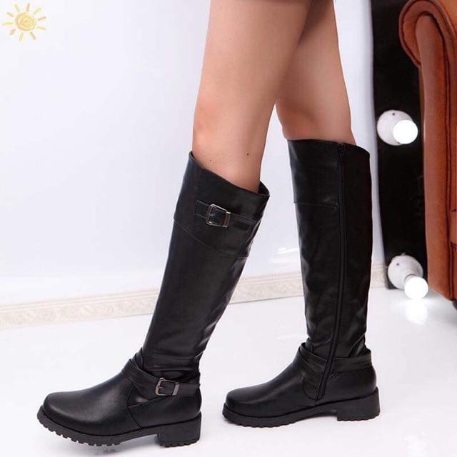 38ae8c82b51 Knee High Riding Boots