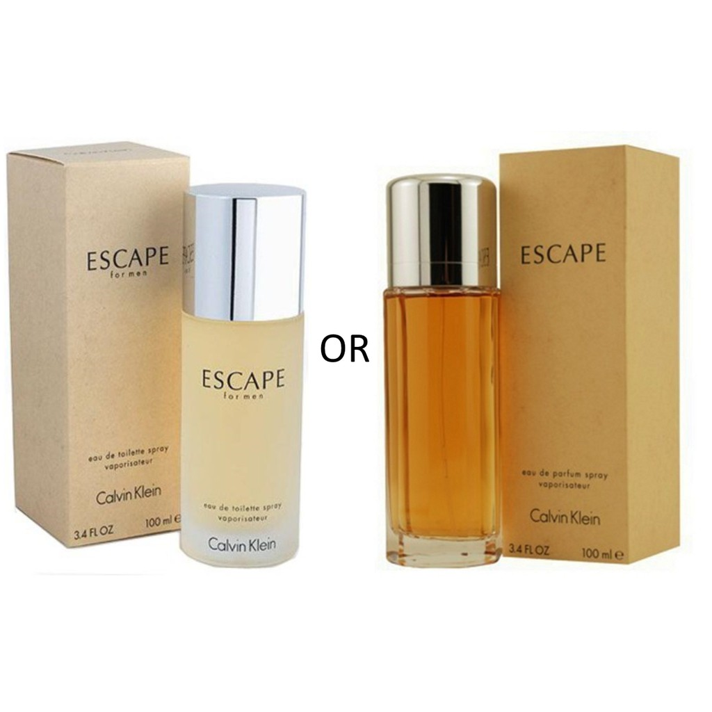 hot sale online authorized site 100% authentic CK Escape for Him OR Her 100ml-USA