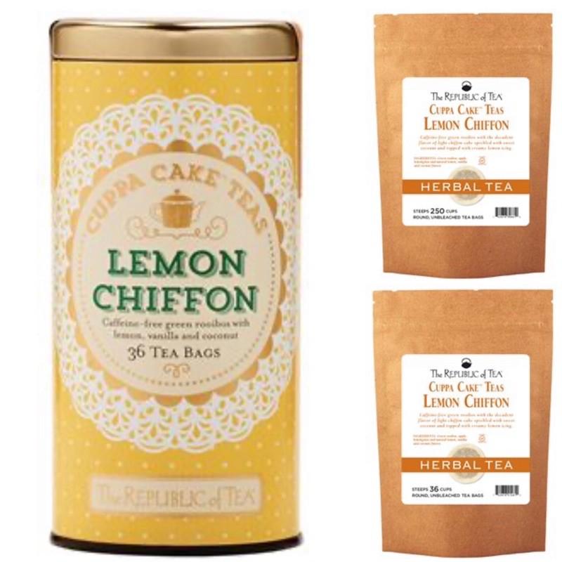 The Republic Of Tea Lemon Chiffon Cuppa Cake 36 Teabags Shopee Philippines