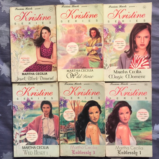 Kristine Series 1 20 By Martha Cecilia New Edition Shopee