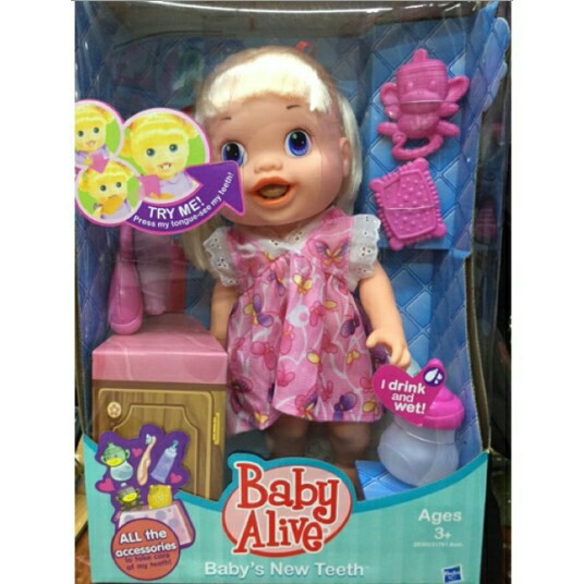 Skt Baby Alive With Toothbrush Shopee Philippines