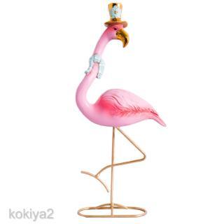 Flamingo Ormament Table Stand Garden Lawn Statue Bird Figurine Pink Queen S