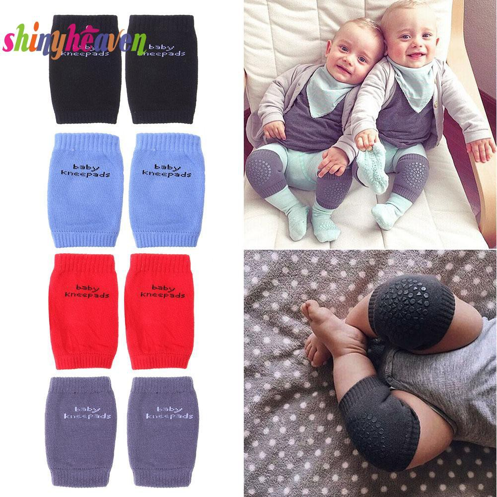 Baby Knee Pads For Crawling Cute Anti Slip Toddler Knee Pads Kids Baby Safety Knee Protector Children Useful Kneepads