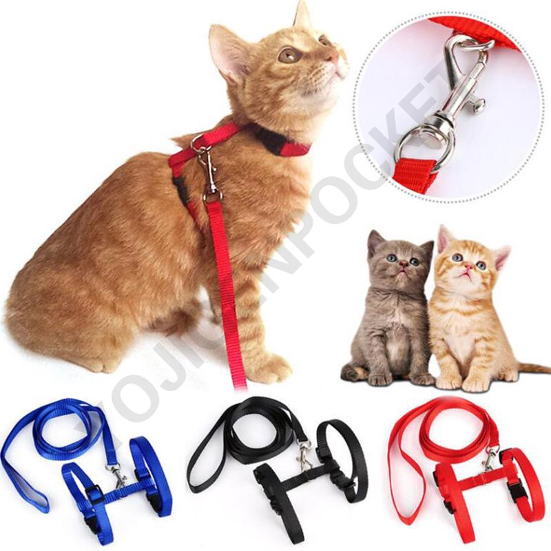 Aspiring Cute Bowknot Nylon Cat Harness Breathable Mesh Bowtie Cat Kitten Dog Harness Pet Puppy Vest For Daily Walking Red Plaid Dog Collars & Leads