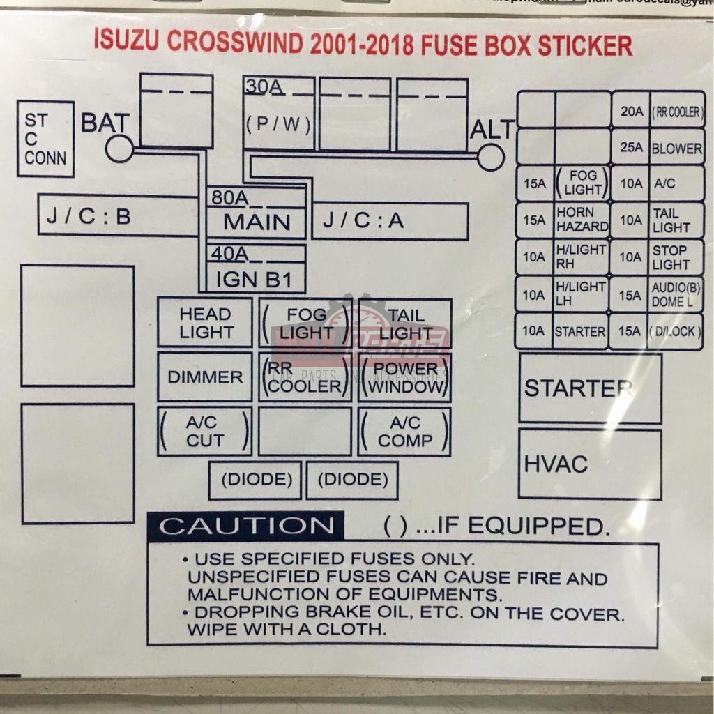 Isuzu Crosswind Fuse Box - Wiring Diagram Replace justify-estimate -  justify-estimate.miramontiseo.it | Isuzu Crosswind Fuse Box |  | justify-estimate.miramontiseo.it