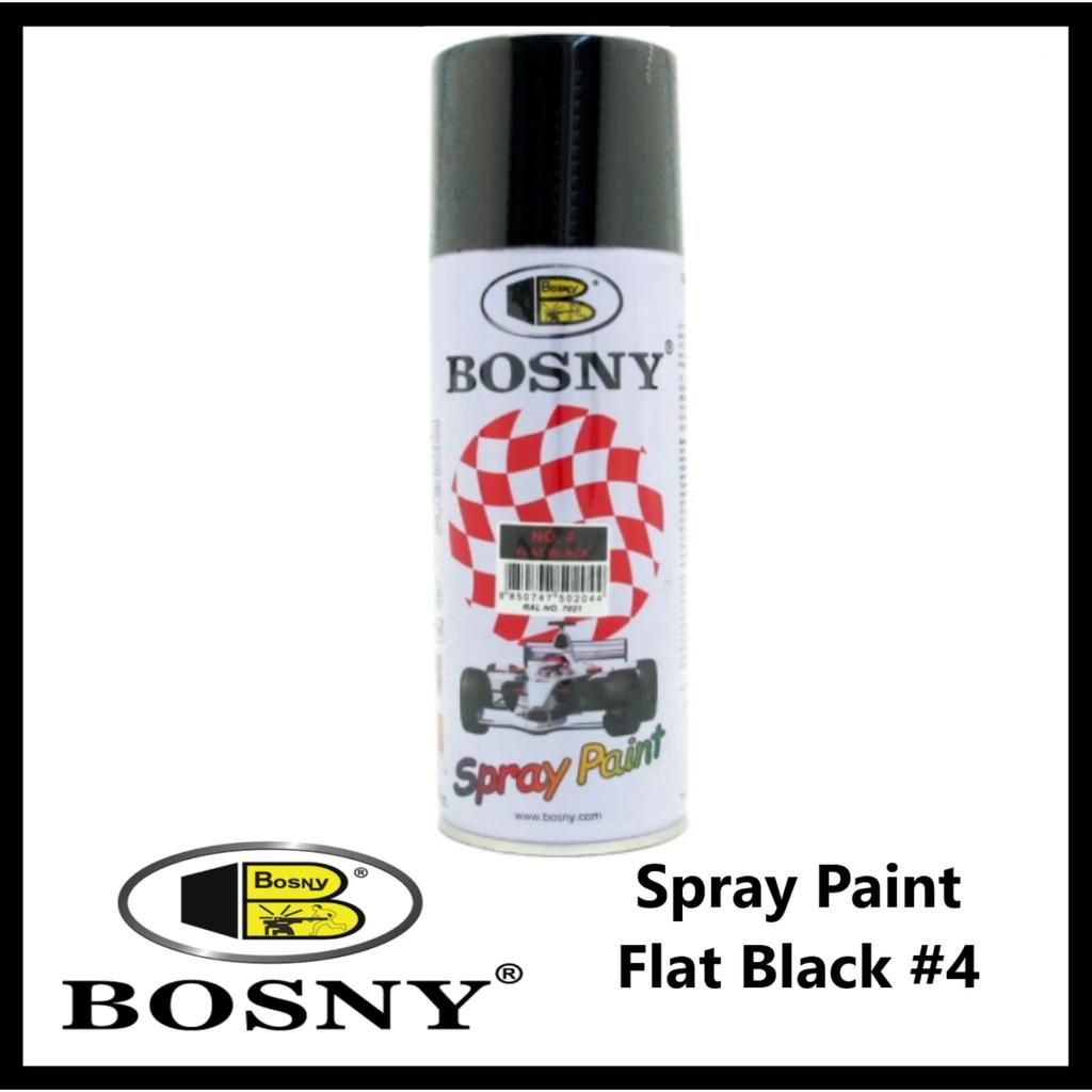 Bosny Spray Paint Flat Black #4