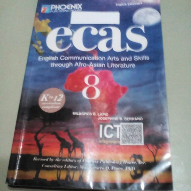 English Communication Arts and Skills - Literature 8