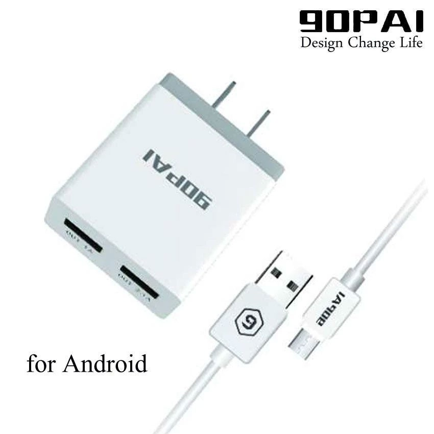 PB-04 90PAI 2 1A Android Suit Usb Charger