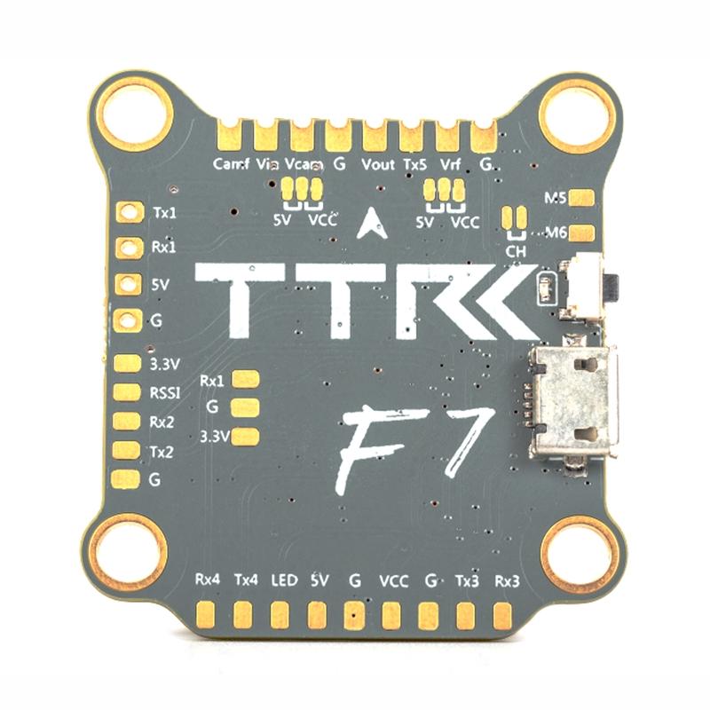 TransTEC F7 F722 3-6S Betaflight Flight Controller OSD MPU6000 Uarts 5  5V/3A BEC 30x30mm