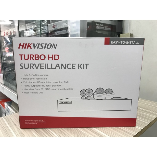 HIKVision 8 Channel CCTV Package(1MP/720p) No Hard Drive