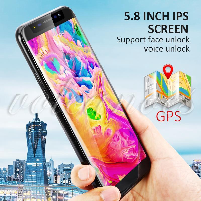 VCN 1+4G Cellphone Smart Phone FaceLock for Apps Pro