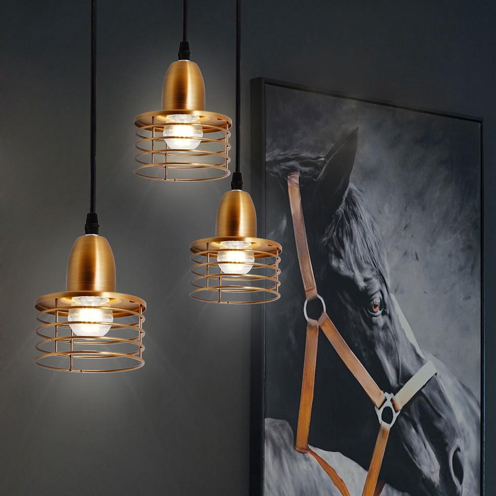 Gold Circle Pendant Light Kitchen Island Lighting Drop Light Shopee Philippines