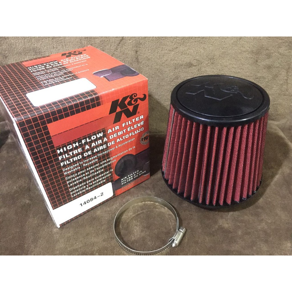 "3/"" Short Ram Cold Air Intake Filter Round//Cone Universal BLUE For Isuzu 2"