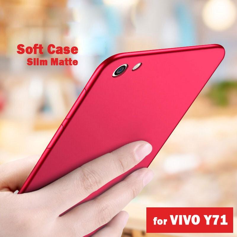 best authentic 8e262 3755e Ultra Thin Casing Slim Matte Shockproof Soft Case Vivo Y71