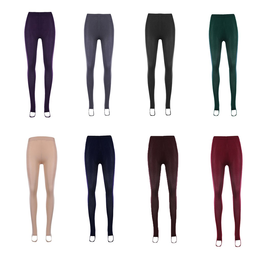 92649de384b22 Women Warm Fleece Lined Leggings Thick Stretch Pant | Shopee Philippines