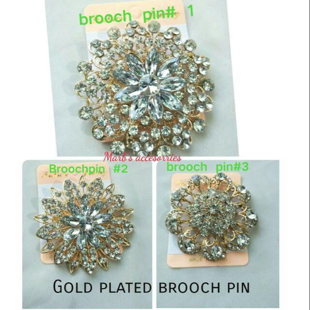 e46fb527101 BROOCH PIN/ ACCESSORIES (55MM) | Shopee Philippines