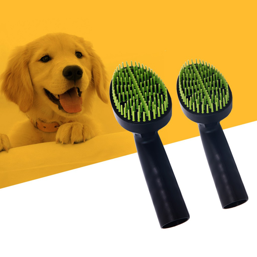 Home Appliances Friendly Pet Vacuum Cleaner Brush Nozzle Accessories 32mm Dog Cat Massage Hair Comb Tools