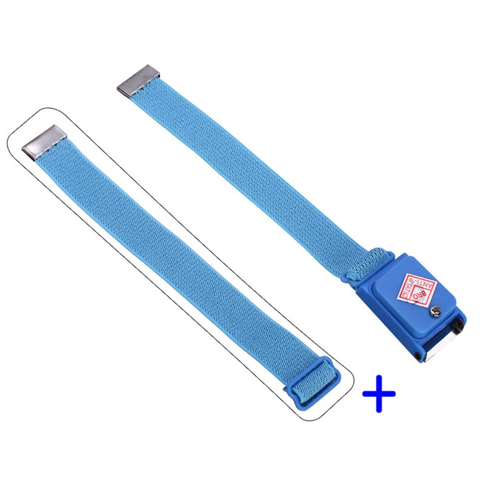 Anti-static Cordless Wireless Anti Static Esd Discharge Cable Band Wrist Strap Slim New Ptsp Hand & Power Tool Accessories