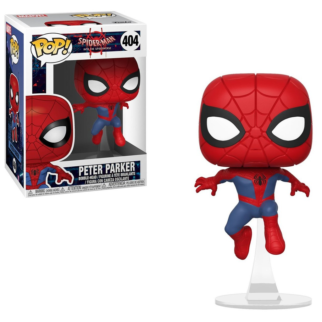SPIDER-MAN FUNKO POP VINYL FIGURE #593 MARVEL 80TH:FIRST APPEARANCE