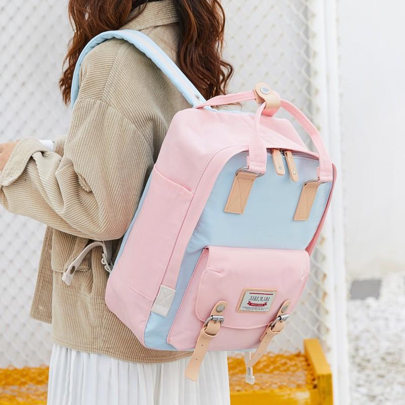 Hick Marty bag donut shoulder bag female bra backpack Korea