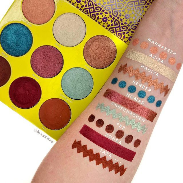 The Saharan II Eyeshadow Palette by Juvia's Place #3