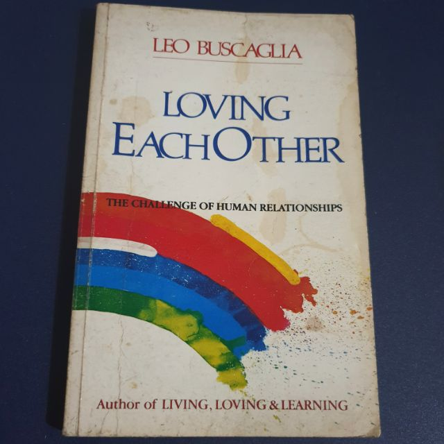 PRELOVED SELF HELP BOOK - Loving Each Other