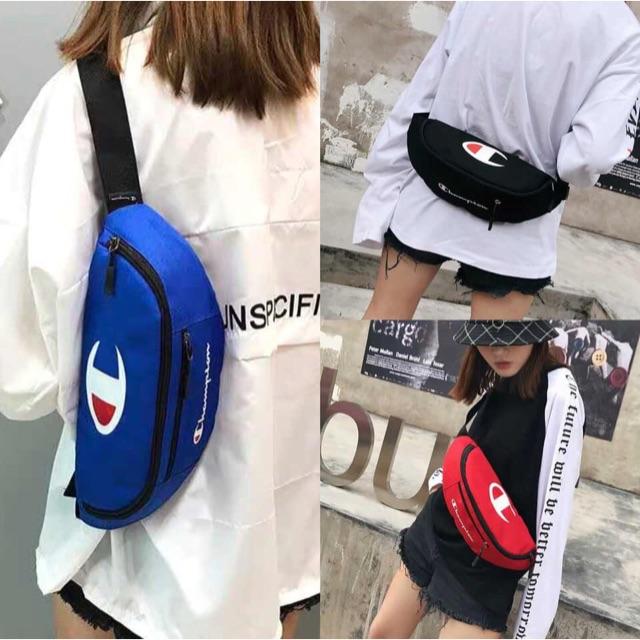b56b1e7e296 A.L COD UNISEX Champion Travel Belt Bag Chest Bag