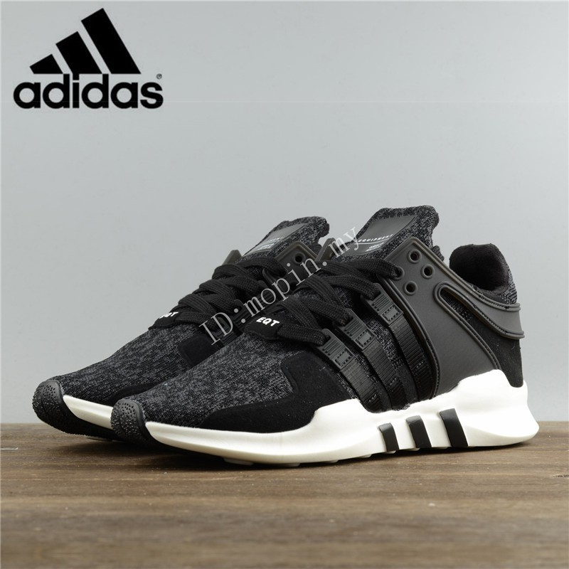wholesale dealer 2112b 0acb3 Kasut Adidas EQT Equipment Support ADV Black/White Men and Women Sneakers  shoes