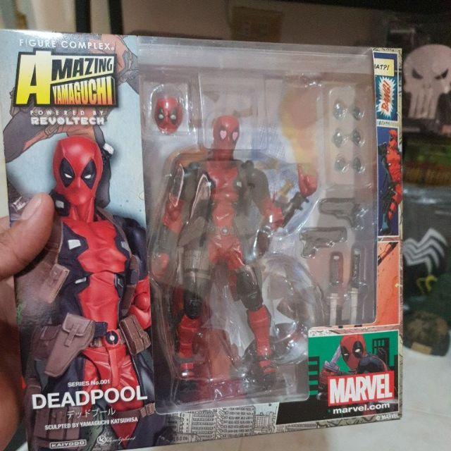Toys & Hobbies Symbol Of The Brand 16cm Series 001 002 003 Deadpool Venom Spiderman Spider Gwen Wolverine Captain America Carnage Pvc Action Figure Toy