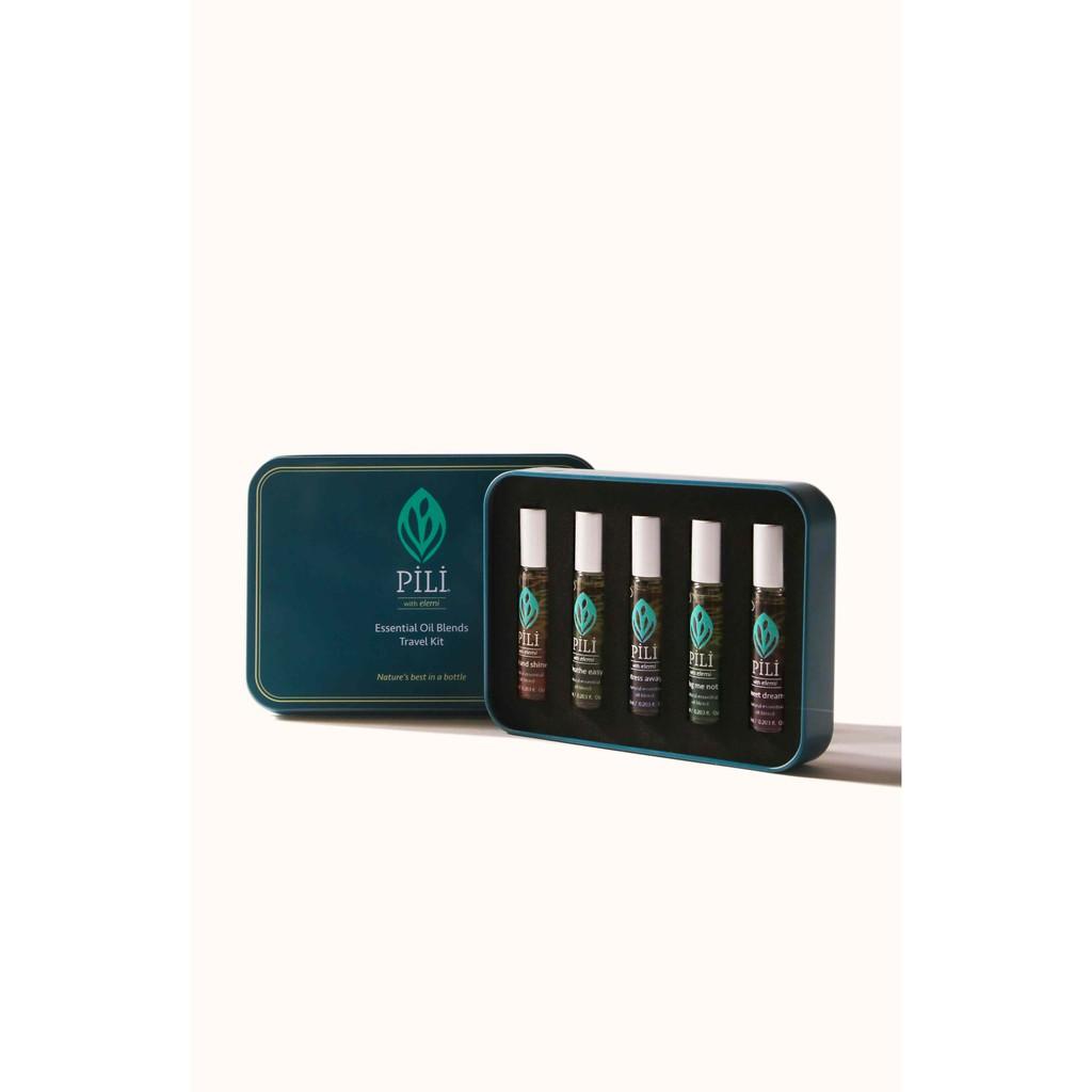 Pili Beauty Essential Oil Blends Travel Kit 6ml