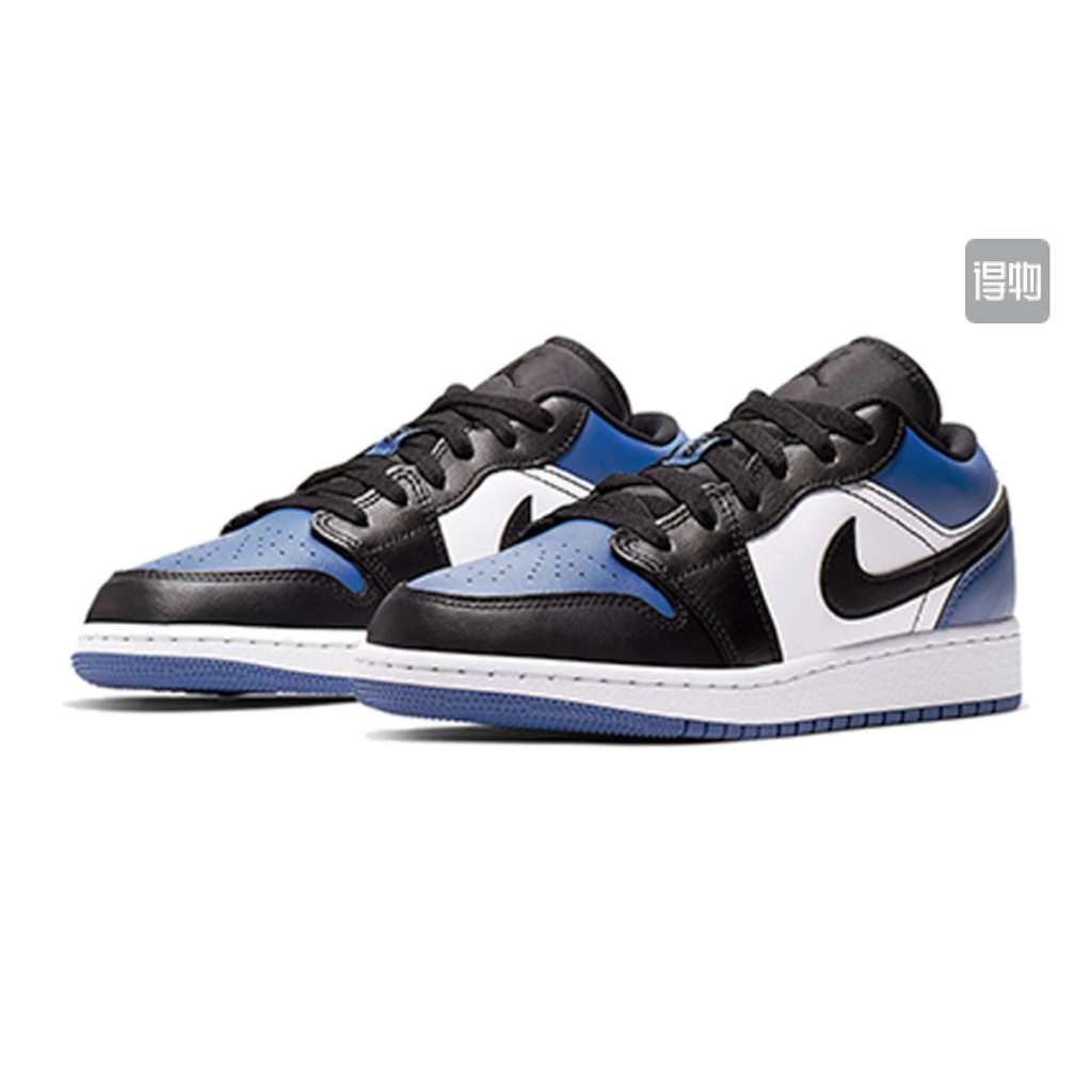 air jordan 1 low blue toe