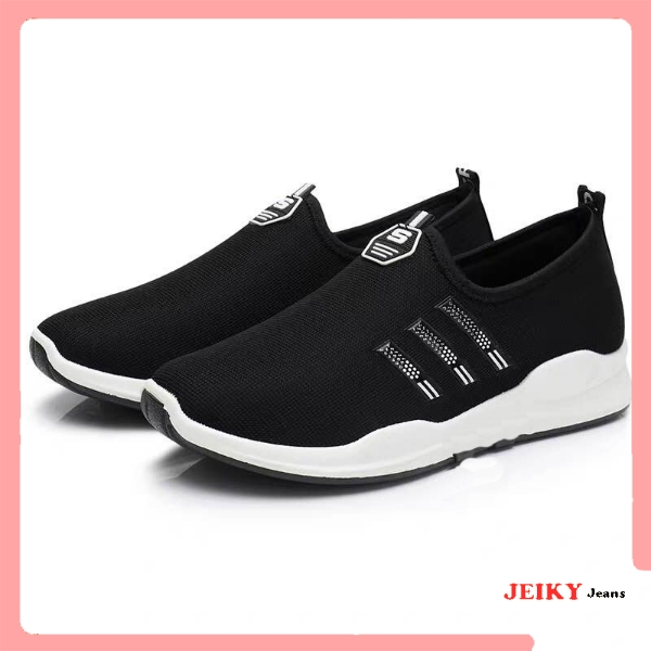 JY. Ladies Slip On Low Cut Breathable S Casual Sneakers (ADD ONE SIZE UP)