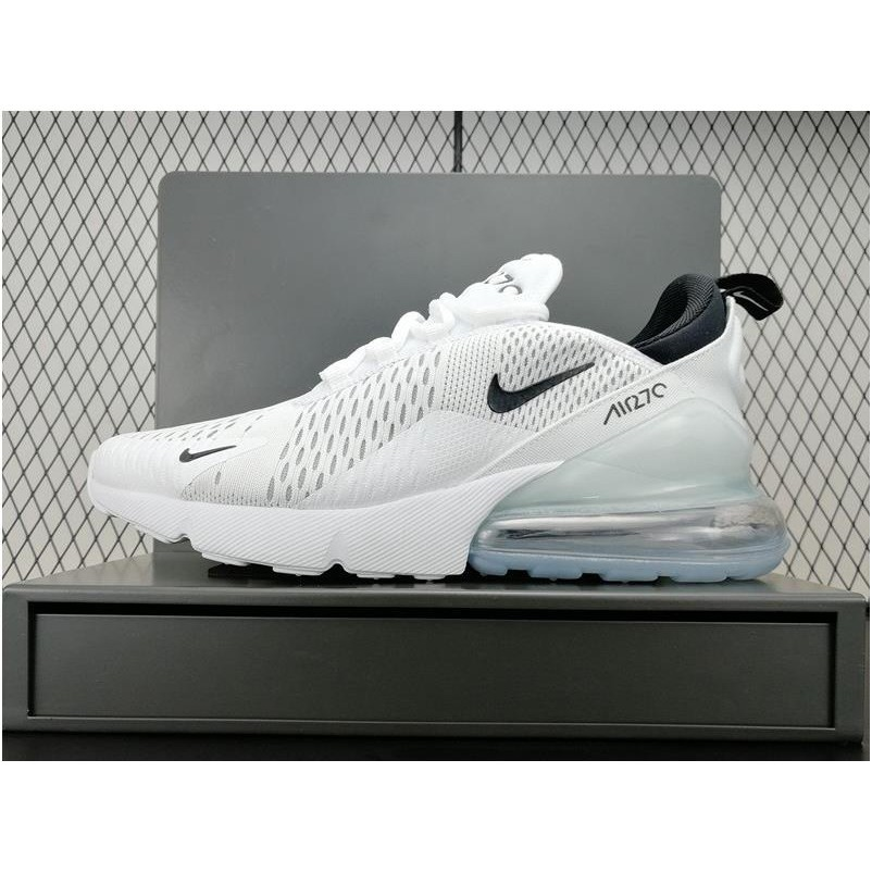 reputable site 67017 39bee Z-ONE Nike Air Max 270 Trainers In White and Black AH8050-100   Shopee  Philippines