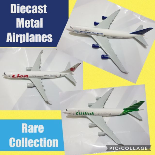 Diecast Metal Airplanes Rare Collection 1