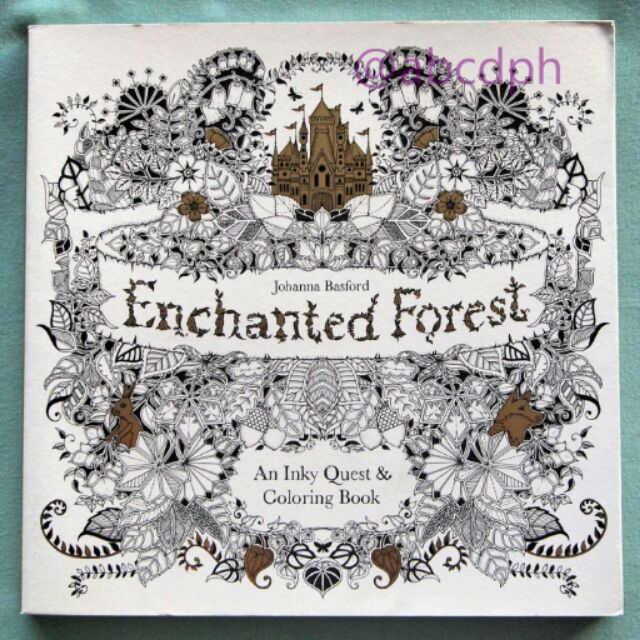 Original Enchanted Forest Coloring Book