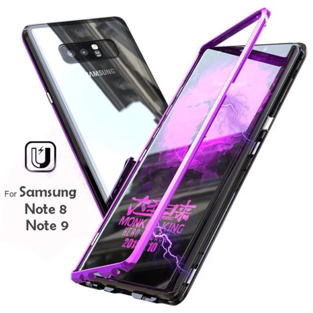 huge discount 93035 bc404 Magnetic Magnet Case For Samsung Galaxy Note 8/Note 9/ C7Pro/C9Pro