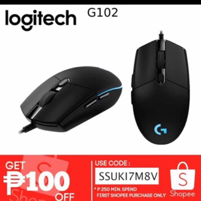 G102 Logitech Gaming Mouse
