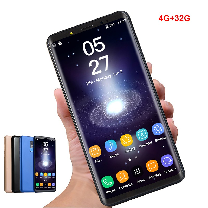 5 72 Inch 3G WCDMA Smartphone Android 6 0 WiFi 4G + 32Gb GPS