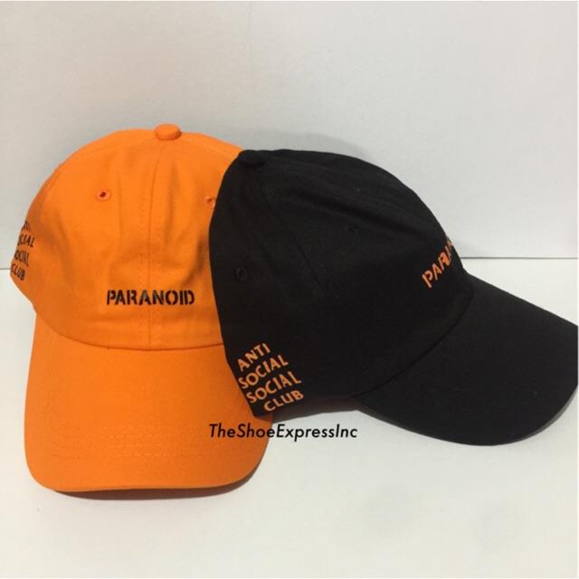 20467f9aaeb Paranoid Undefeated Anti Social Social Club Dad Hat Cap