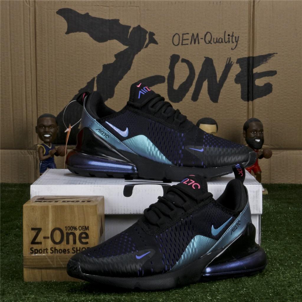 air max 270 mens black and blue