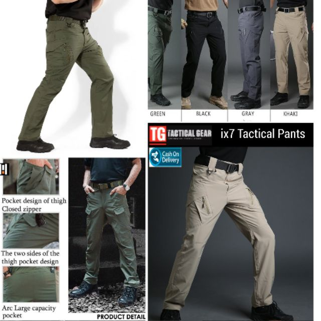 Women Mens Straight Pants Cargo Military Casual Outdoor Tactical Trousers 27-38