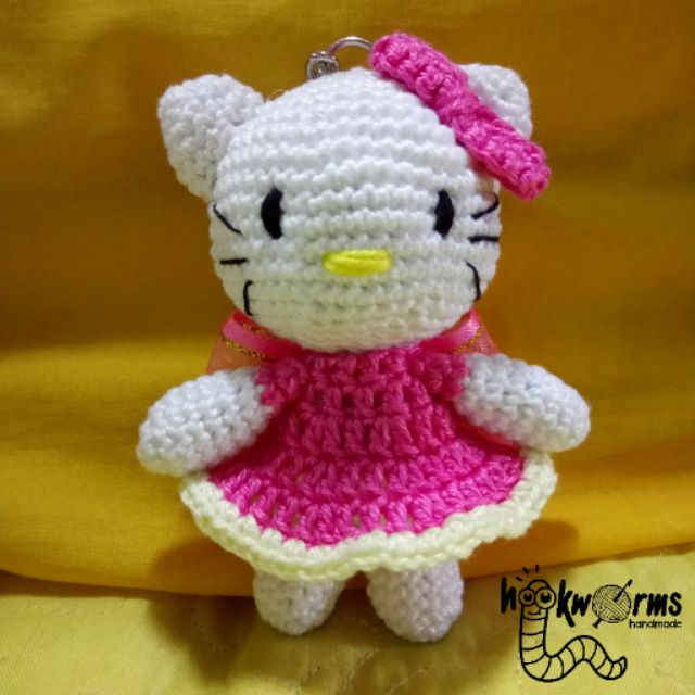 Hello kitty Amigurumi Wedding gift doll for couple crochet ... | 640x640