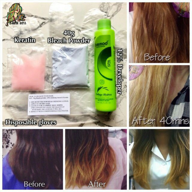 On-hand & Ready to ship Generic Hair Bleaching/Blonding Kit