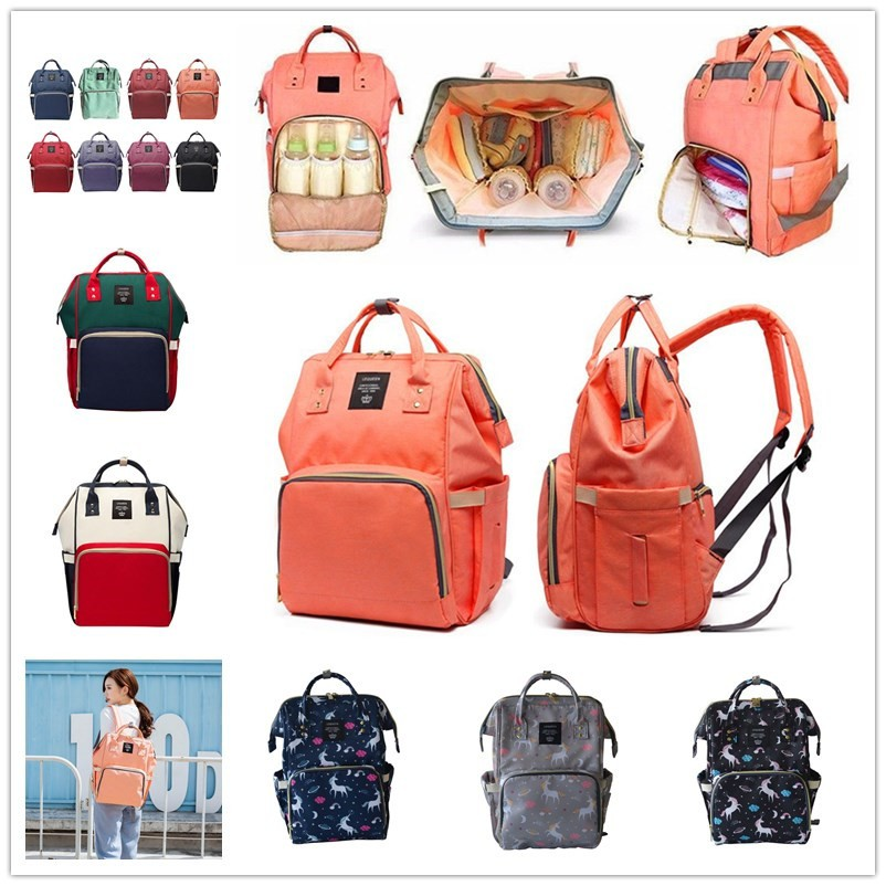 3b98fa1309 Baby Diaper Nappy Backpack Large Capacity Bag