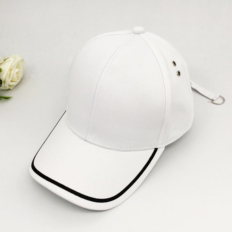 Cool Korean Snapback Hats Unisex Hip-Hop Adjustable Peaked Hat Baseball Cap New