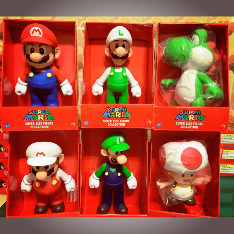 """NEW Super Mario Odyssey Golden Mario Plastic Figure PVC Doll Toy Gifts 5/"""""""
