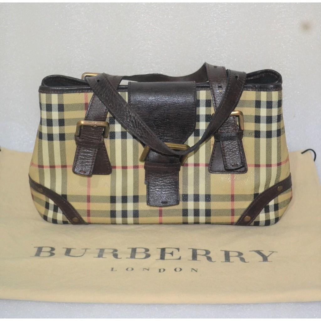 Authentic Burberry Nova Check small tote bag  32ccbdc3aa37d