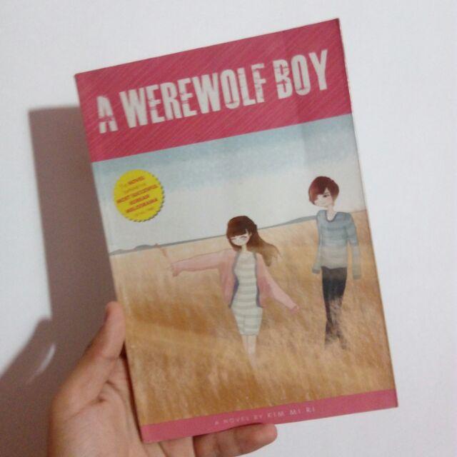 Werewolf book a boy