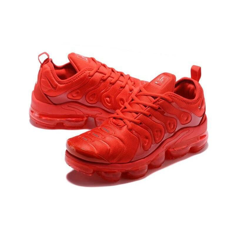 reputable site de209 8fede 100%Original Nike Air VaporMax Plus Womens Triple Red